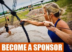 Become Mighty Mud Dash Sponsor
